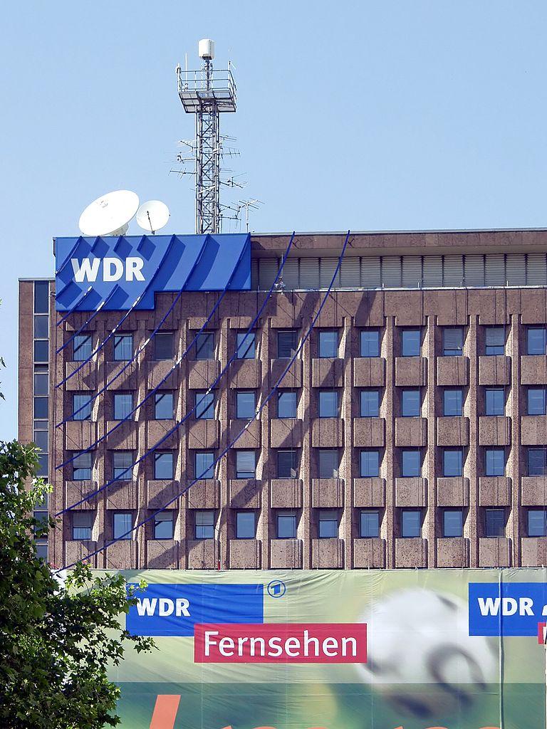 Auf dem Bild ist das WDR Archiv·haus zu sehen. Das Haus ist in Köln