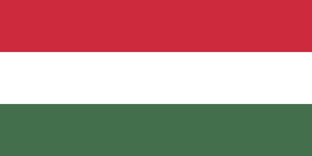 Auf dem Bild ist die Flagge von Ungarn zu sehen