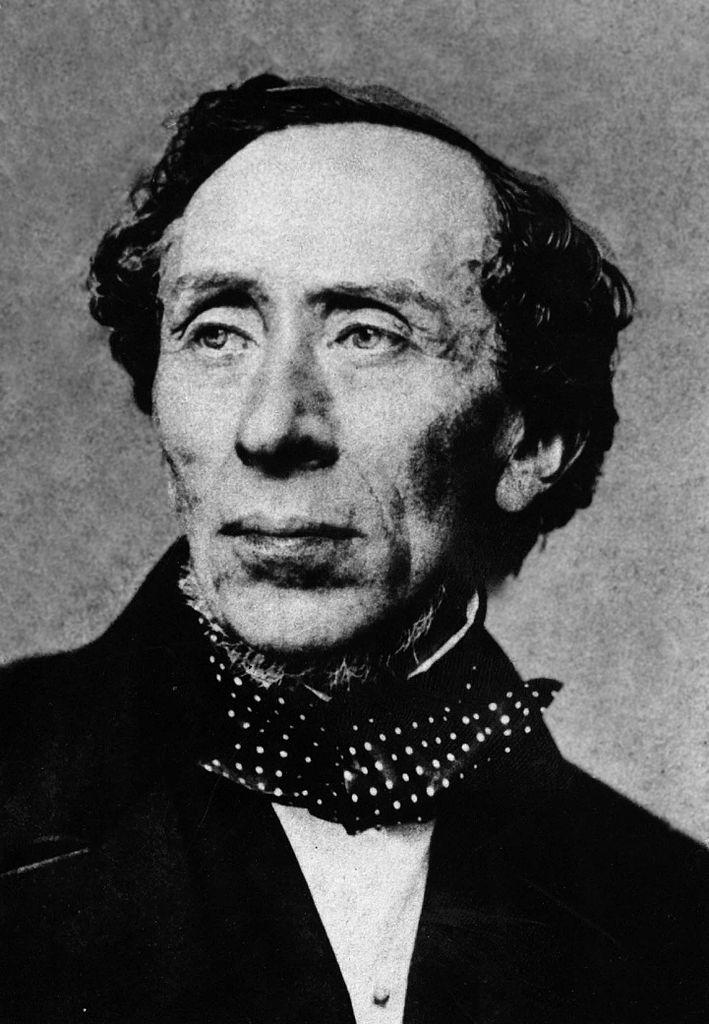 Auf dem Bild ist Hans Christian Andersen zu sehen