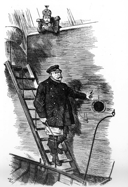 Bismarck, Kaiser Wilhelm II.jpg