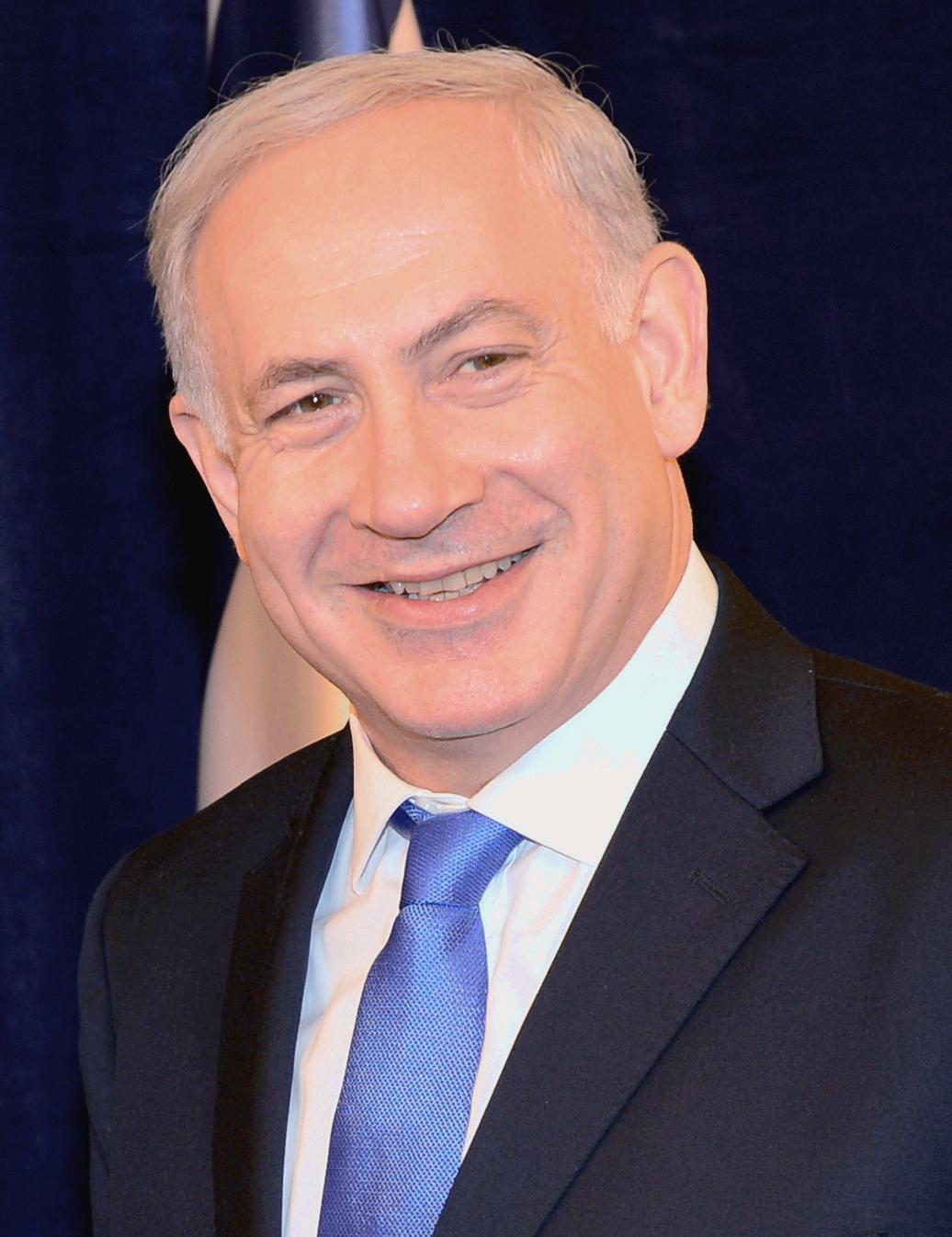 Auf dem Bild ist Benjamin Netanjahu zu sehen