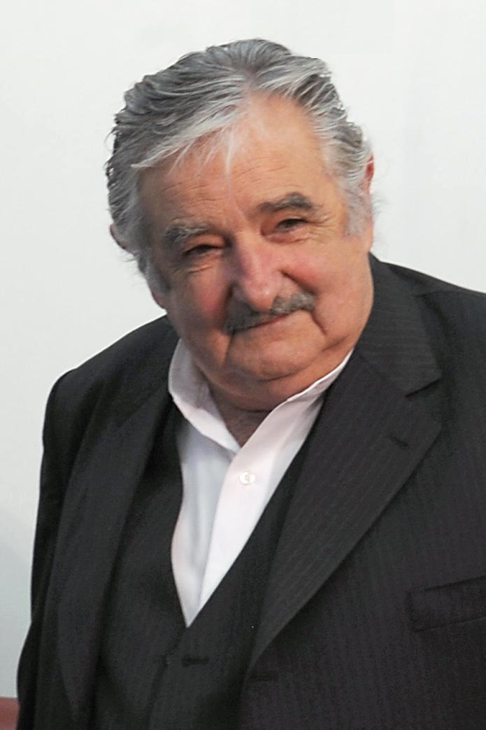 Auf dem Bild ist José Mujica zu sehen