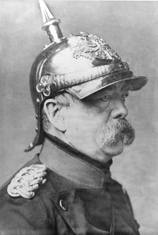 Auf dem Bild ist Otto von Bismarck